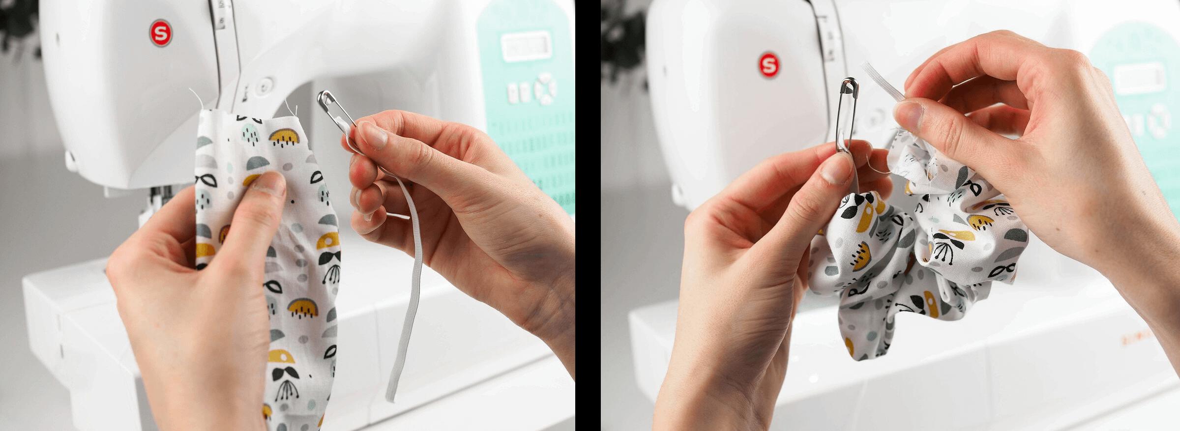 Výroba gumičky do vlasů