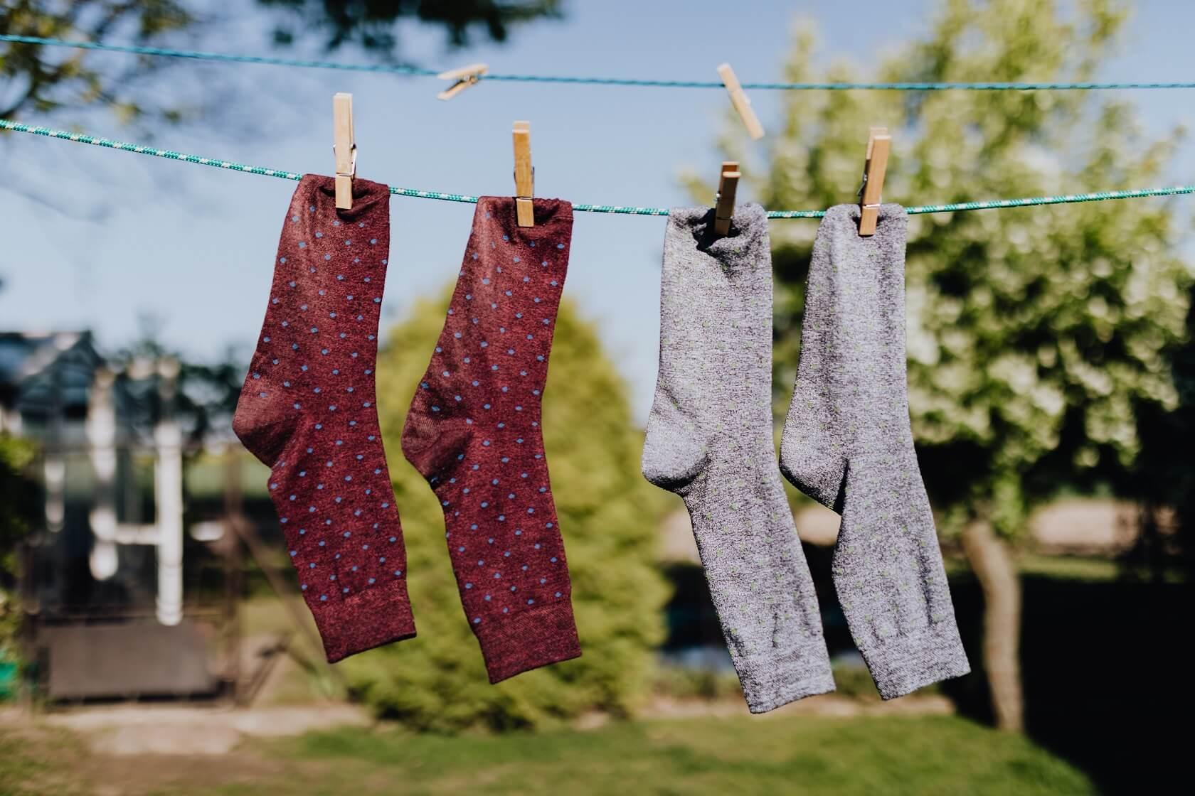 Jak prát ponožky