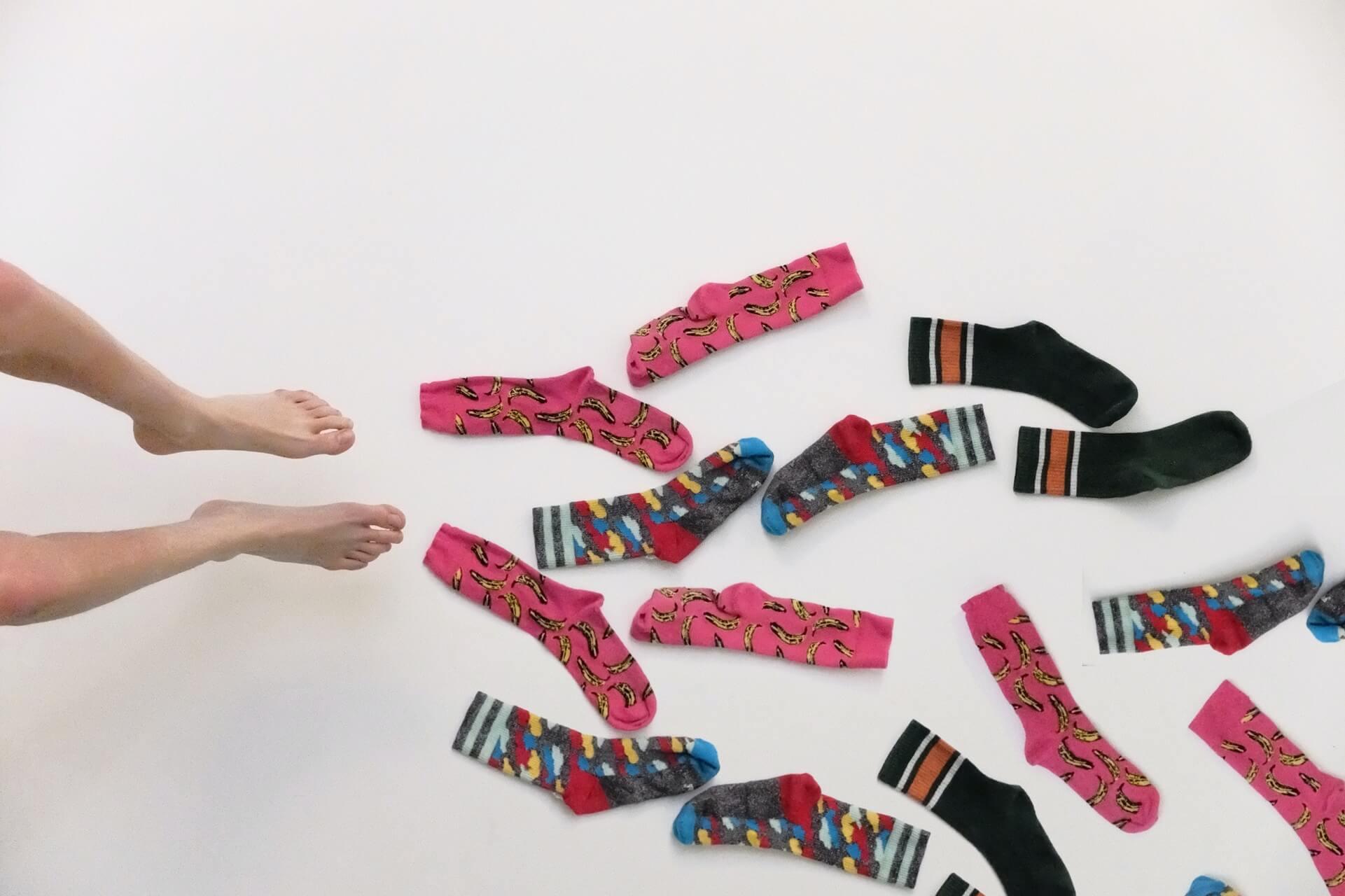 Praní ponožek