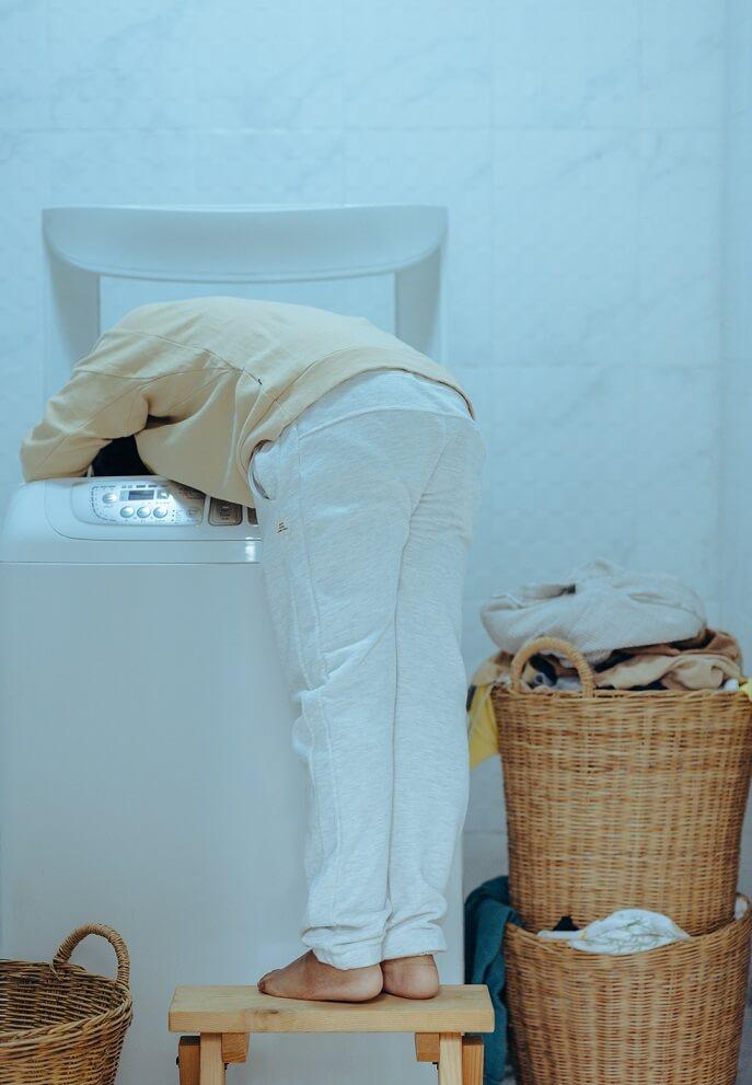 Prádlo dejte na kupky podle barvy